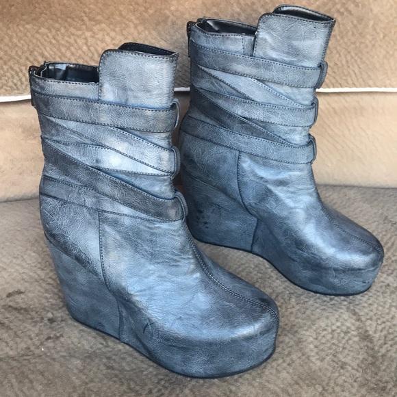 7c6c9d0fa95 H M Shoes - Dragon Tattoo boots H M Trish Summerville platform